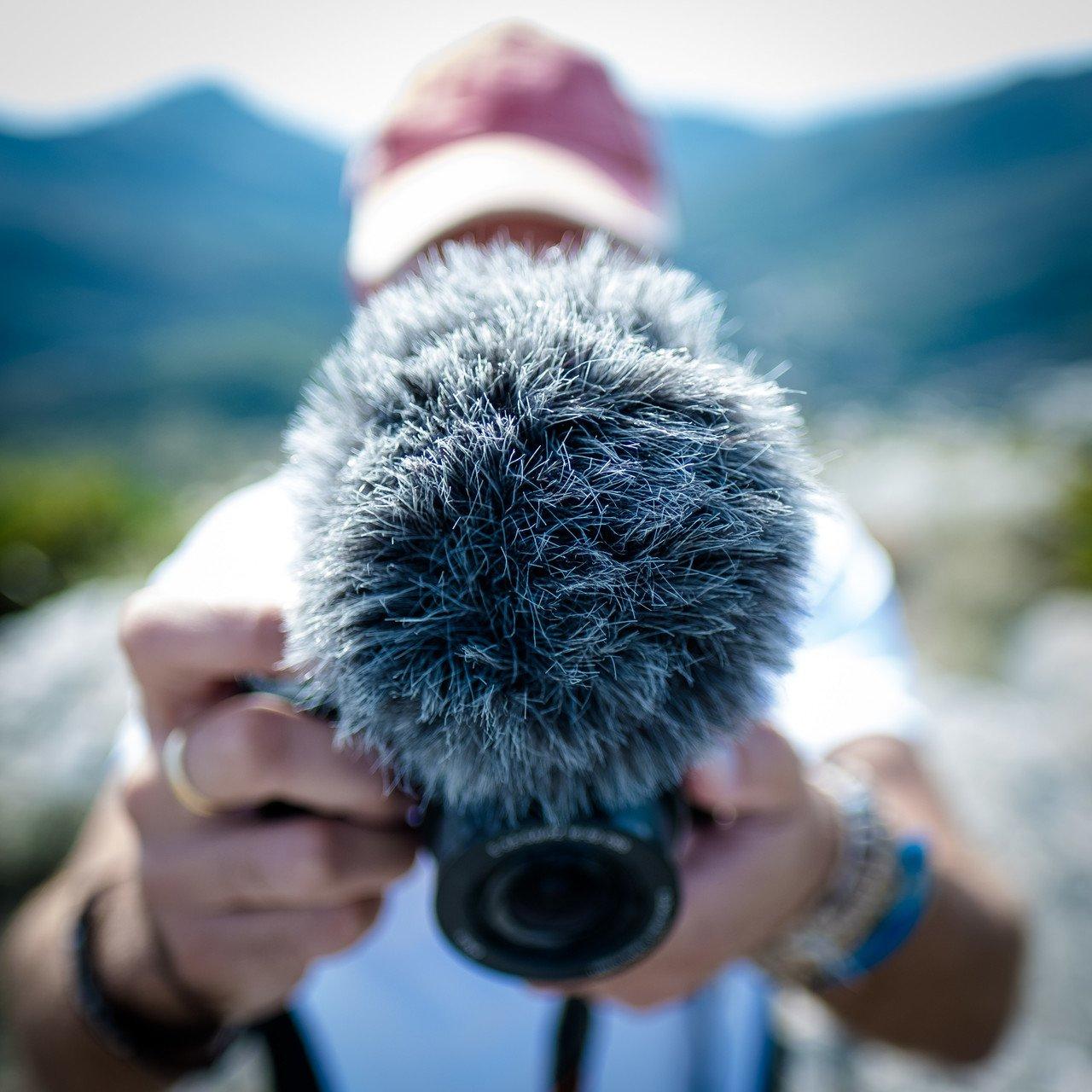 Camera and sound equipment
